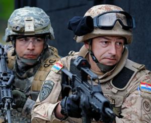 Croatian-soldier
