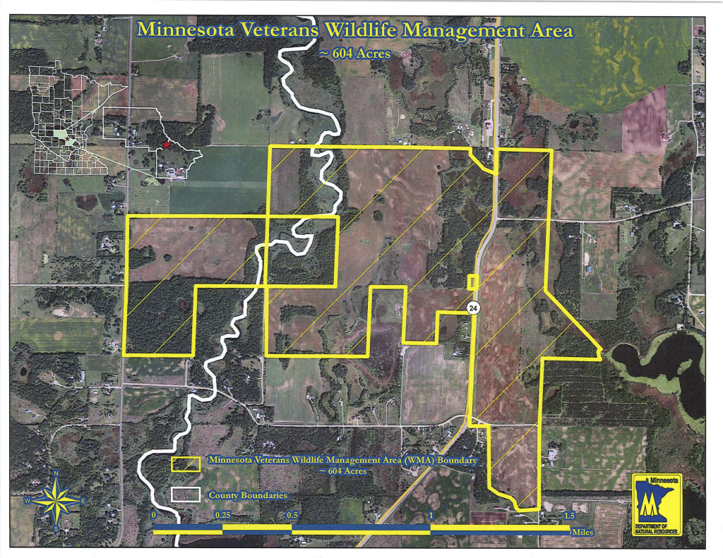 Minnesota Veterans Wildlife Management Area Map