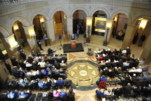 Veterans Day on the Hill