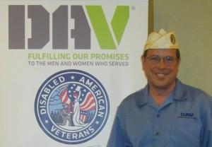 DAV Commander and Folds of Honor