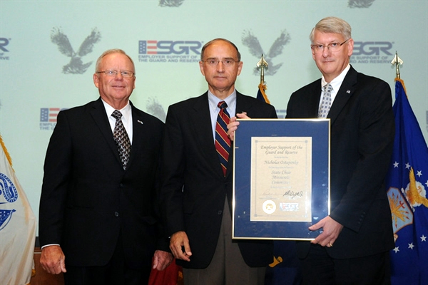 ESGR State Chair and Veteran Homelessness