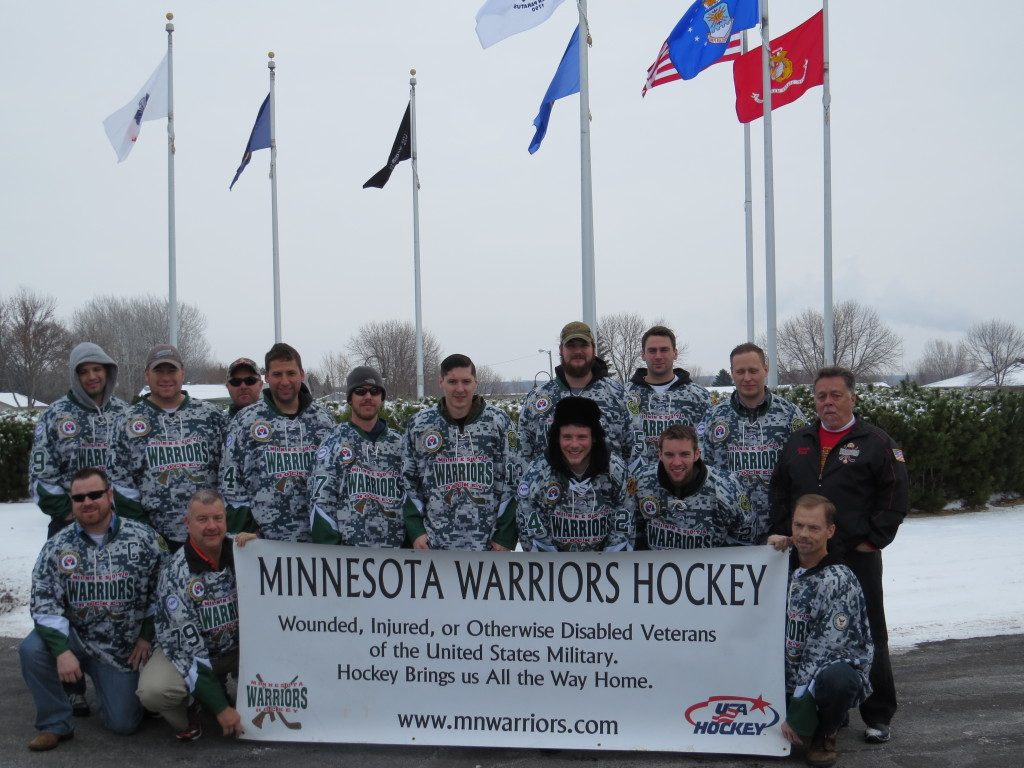 US Army Corps of Engineers and Warriors Hockey