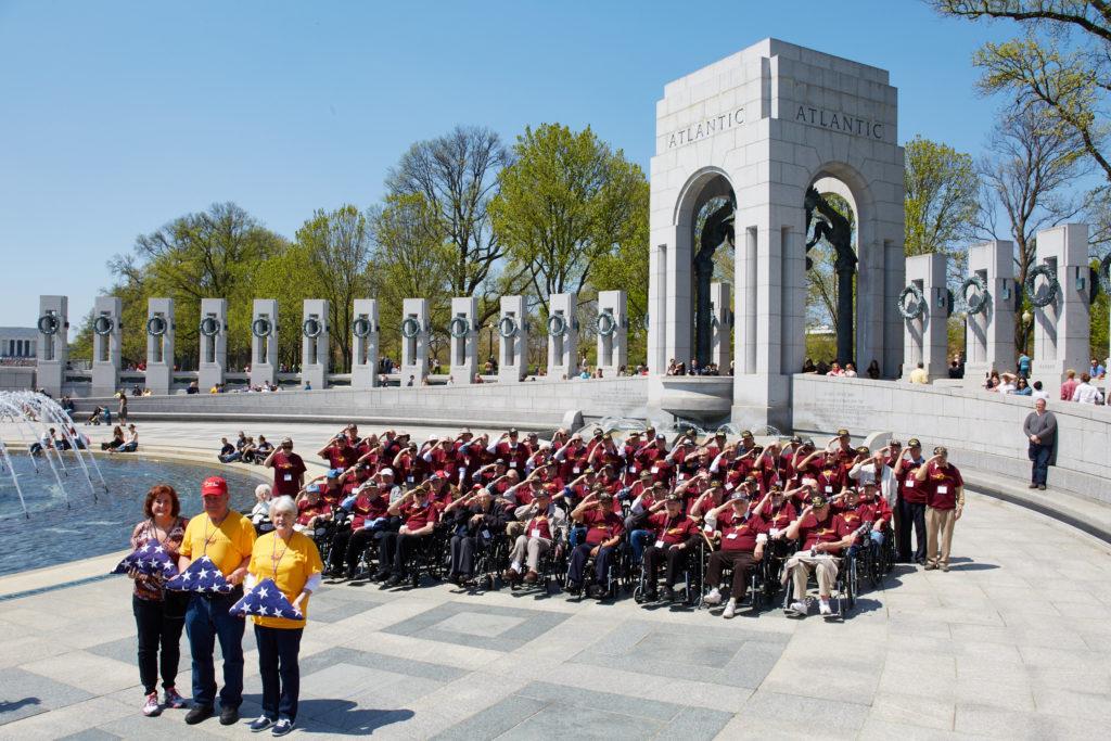 WWII and Korean War Veterans Honor Flight