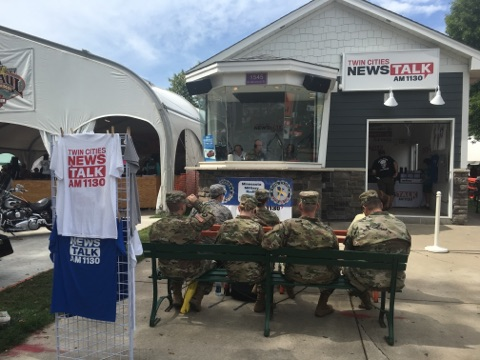 Military Appreciation Day at the State Fair
