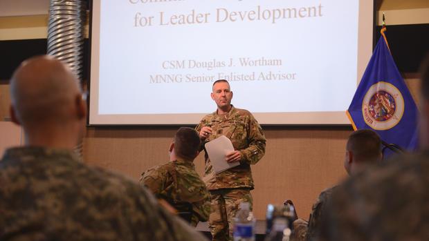 Senior Enlisted Advisor and VFW State Commander